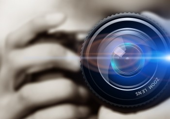 Photography Shot - photographer with zoom lens